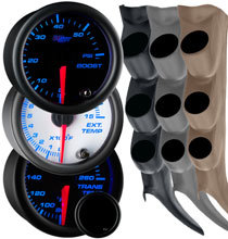 7 Color Series Triple Gauge Package for 00-06 GMC Sierra (Includes 2007 Classic)