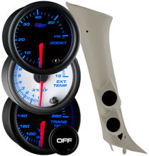 7 Color Series Dual Gauge Package for 07-13 Sierra (Not Including 2007 Classic)