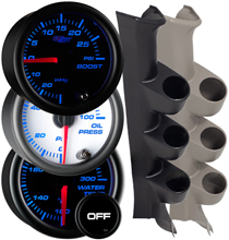 7 Color Series Triple Gauge Package for 6.4L Power Stroke