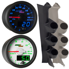 MaxTow Series Triple Gauge Package for 6.4L Power Stroke