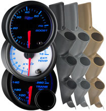 7 Color Series Triple Gauge Package for 11-16 Ford Super Duty Power Stroke