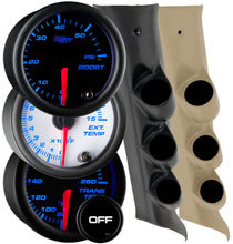 7 Color Series Triple Gauge Package for 14-19 GMC Sierra