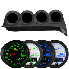 MaxTow Quad Gauge Package for 86-93 Dodge Ram