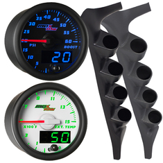 MaxTow Quad Gauge Package for 92-97 F-Series IDI & Power Stroke