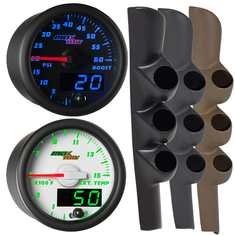MaxTow Triple Gauge Package for 98-02 Dodge Ram Cummins
