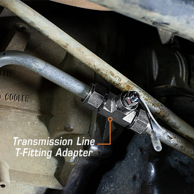 Duramax Trans T-Fitting Adapter