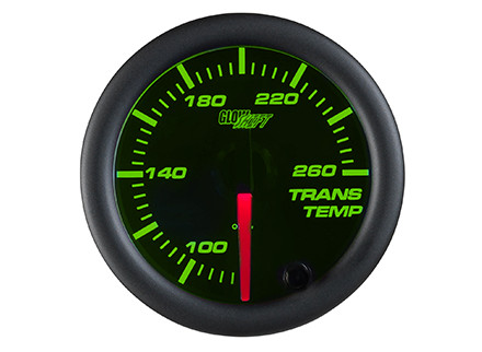 Black 7 Color Transmission Temperature Gauge