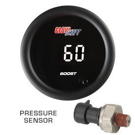 60 PSI Boost Gauge