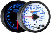 Elite 10 Color 60 PSI Boost Gauge
