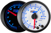 Elite 10 Color Volt / Voltage Gauge