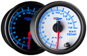 7 Color 1500 Pyrometer EGT Gauge