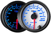 7 Color 2400 Pyrometer EGT Gauge