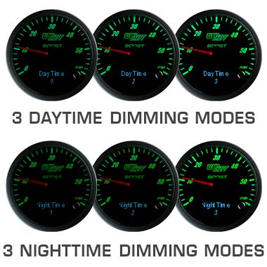 3 in 1 Series Dimming Feature