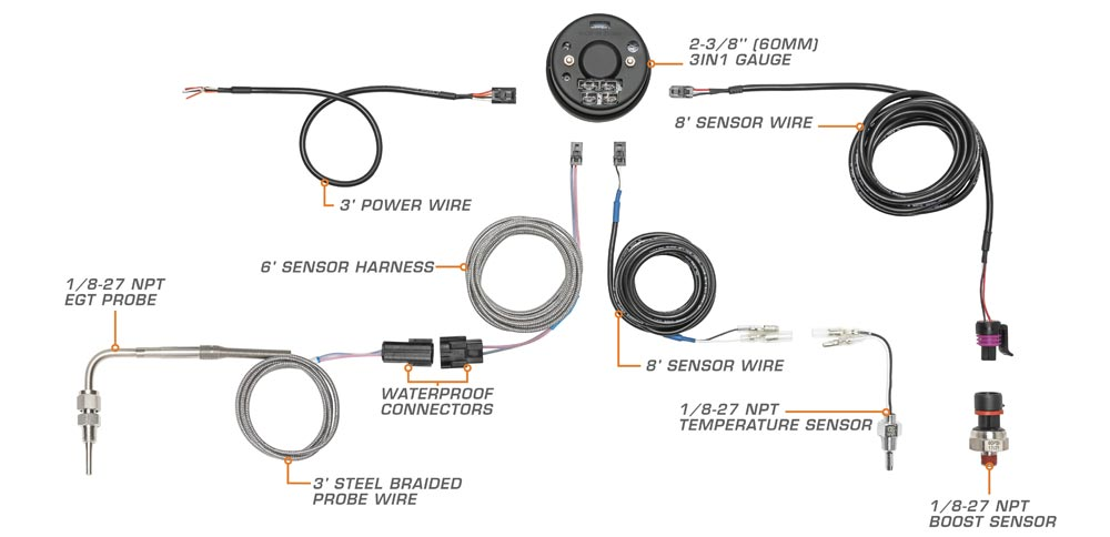 3 in 1 Series Wiring