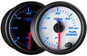 7 Color 30 PSI Fuel Pressure Gauge