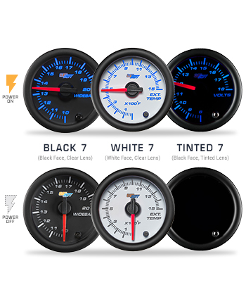 Custom 7 Color Gauge Package