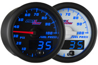 Blue MaxTow 100psi Fuel Pressure Gauge