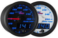 Blue MaxTow Trans Temp Gauge