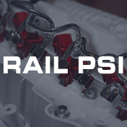 Rail Pressure PSI Gauges