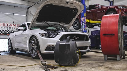 Glowshift Ford Mustang Build Series